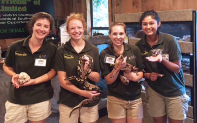 2019 Internships with EARTH & Southwick's Zoo